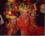 Jean, Cherie and Karem as Carmen Miranda.  Sometimes when we all get together we act a little fruity.