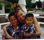 Cherie with Tyler and Trevor (Mike and Tonya's (step-sister) children)