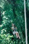 Doesn't everyone secretely want to become Tarzan.  Here's Kristi's attempt as she swung through the rain forest canopy.