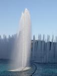 The fountains at the Belagio Hotel.