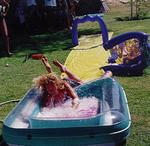 "I don't know why I didn't read the warning on the box ""Slip and Slides are for kids only!!!""  I never learn."