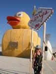 Ever gamble in a giant rubber duckie?