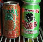 Instead of Coke and Sprite, the Caymanians drink pineapple and watermelon flavored sodas.