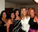 Shirley, Kathy, Karem, Jennifer and Cherie.  (Family and Friends.)