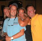 Some of the staff of Bob Soto's Reef Divers (the best dive shop in the Cayman Islands.)