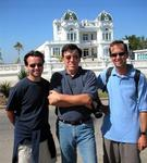 Mike, Tom and Greg in front of Club Cienfuegos.