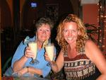 Celebrating Joanne's %#th birthday with original pina coladas.