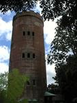 A moorish tower exactly where you'd epect to find it, in the jungle tropics!