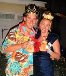 Patrick and Cherie were voted Prom King and Prom Queen for the Tiki Prom 2003.