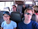 The gang on the Bundu Tour Bus.