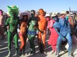 All ages, shapes, and colors are welcomed at Burning Man!