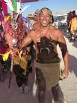 Africa comes to Burning Man.