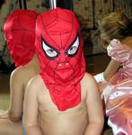 Brother Tanner is spiderman!
