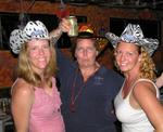 Jean, Anne and Cherie in our funky cowboy hats.