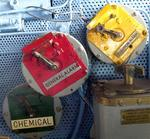 Just a few of the USS Midway alarms.