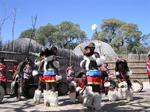 The friendly Swazis put on an unforgettable dance show for us.