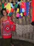 Look at all the colorful Swazi clothing.