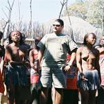 Amir didn't complain when he got to dance with the Swazi virgins.  *Photo by Renee.