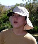 Josh (13) took a father-son trip to Africa with his dad Tim.