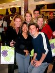 The whole gang--Cherie, Carter, Kristi, Renee and Dom at the Stellenbosch Wine Festival.