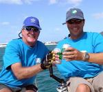 Mark on the main & Phil on the helm helped team BYV Yacht Charters 1 take 1st place on Day 1.