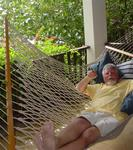 The real question is: Why don't all bars have hammocks?