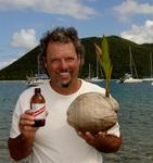 All Milo wants is a beer and a coconut.