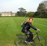 Riding by Muckross House.