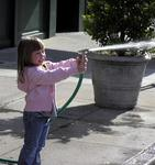 Reason 97 not to give a hose to a 3-year-old.