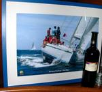 As winners of the Bareboat Championship, we were presented with this magnificent photo of DSD Carnival.