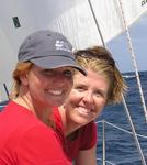 Even after being on a boat for two weeks...Jean and Cherie remain friends.  Shocking eh?