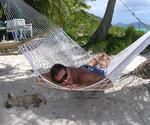 Lazy days in the British Virgin Islands.