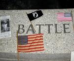 The WWII Monument commemorates every battle fought.