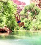 It's a natural playground at the Havasupai Indian Reservation.