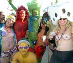 All races and colors are equally welcome at Burning Man.
