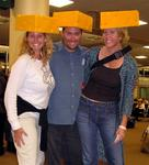 After visiting Wisconsin, Cherie, Jean and Dustin become official cheese-heads.