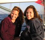 "Cherie and Hilda head to Mexico on the ""41st Annual San Diego to Ensenada International Yacht Race."""