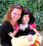 One of us is ready for Halloween.  Here I'm with my niece Gracie (AKA Snow White).