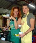 Thai chefs Cherie and Leighton.