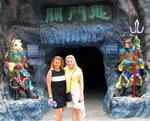 "Cherie and Margaret enter the ""10 Courts of Hell."""
