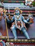 Detail of the Sri Veeramakaliamman Temple.  Say that 10 times fast.