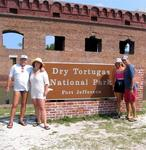 The Dry Tortugas National Park.