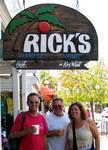 Greg, Rennie and Anne at Rick's.