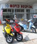 Key West's moped hospital.