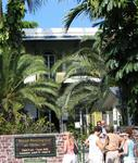 Tourists line up to see Ernest Hemmingway's house.