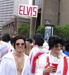 Elvis, and all his personalities, showed up to run (and sing!)