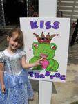 Who is ready to kiss a frog?