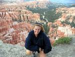 "Cherie learns what a ""hoodoo"" is at one of the most beautiful landscapes in the United States--Bryce Canyon."