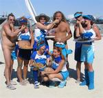 This year we had 14 fuzzy blue friends in Camp Cookie Monster.  We gave away 18 tons of cookies (or was it 18 cases?)