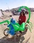 Help...the green scorpion took the blue Cookie Monster!